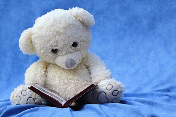 Czytający miś