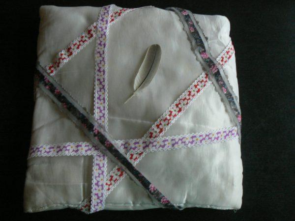poduszka z piórkiem
