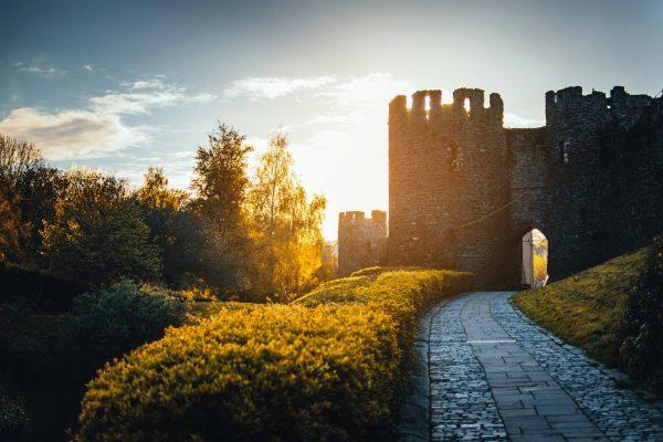 droga prowadząca do zamku