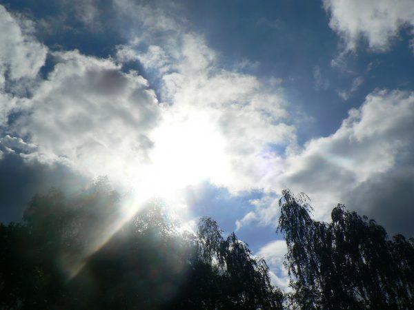 niebo nad Bocińcem