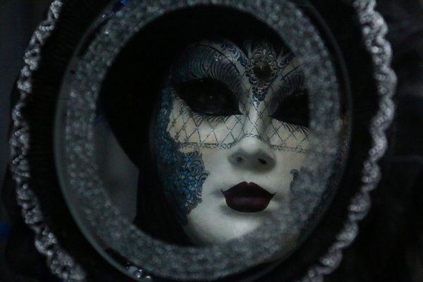 maska, przebranie, lustro